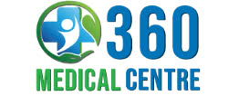 360 Medical Centre logo