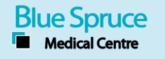 Blue Spruce Medical Centre logo
