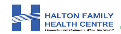 Halton Family Health Centre Walk-In logo