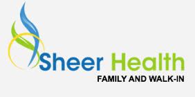 SheerHealth Family and Walk-In logo