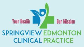 SpringView Edmonton Clinical Practice logo